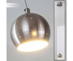 Wabana Lámpara colgante LED Níquel-mate, 1 luz - 470 Lumen - Moderno/Diseño - Zona interior - 3000 Kelvin - 2 - 4 días laborables .