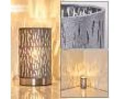 Liared Lámpara de Mesa Gris, 1 luz - - Diseño - Zona interior - - 2 - 3 semanas .