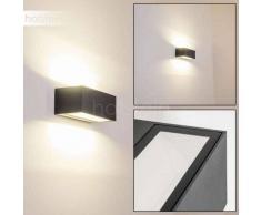 GEMINI Aplique para Exterior LED Antracita, 1 luz - 1240 Lumen - Moderno - Zona exterior - 4000 Kelvin - 2 - 4 días laborables .