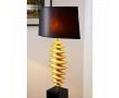 Masaya Lámpara de pie Negro-dorado, 1 luz - - Diseño - Zona interior - - 3 o 6 días laborables .