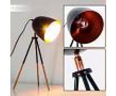 MONTREAL Lámpara de Mesa Negro, Cobre, 1 luz - - Diseño - Zona interior - - 3 o 6 días laborables .