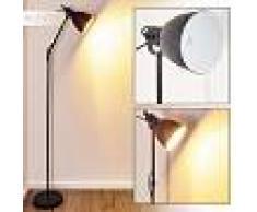 Timola Lámpara de Pie Negro, 1 luz - - Moderno - Zona interior - - 3 o 6 días laborables .