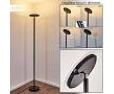Wonsbek Lámpara de Pie LED Negro, 1 luz - 2500 Lumen - Moderno - Zona interior - 3000 Kelvin - 2 - 3 semanas .