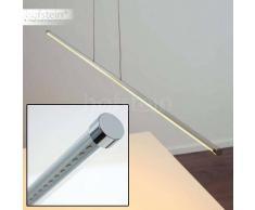 Globo Fenja Lámpara colgante LED Cromo, 1 luz - 720 Lumen - Moderno/vivienda Juvenil/Fun - Zona interior - 3200 Kelvin - 4 - 8 días laborables .