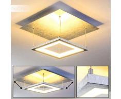 Kangos Lámpara de Techo LED Plata, 4 luces - - Moderno - Zona interior - 3000 Kelvin - 4 - 8 días laborables .