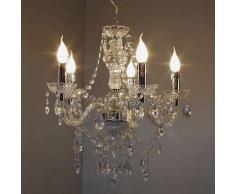 Lámpara de araña Transparente, claro, 5 luces - - Clásico - Zona interior - - 3 o 6 días laborables .