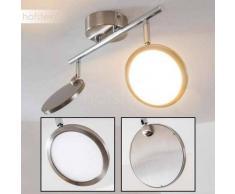 Alberton Lámpara de techo LED Marrón claro, 2 luces - 500 Lumen - Moderno - Zona interior - 3000 Kelvin - 2 - 4 días laborables .