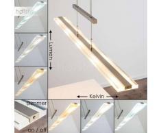 Lámpara Colgante Brunflo LED Níquel-mate, 5 luces - 2000 Lumen - Moderno - Zona interior - 2700/6500/4600 Kelvin - 2 - 4 días laborables .