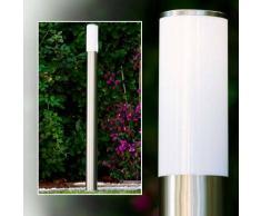 Caserta Lámpara de pie para exterior Acero inoxidable, 1 luz - - Moderno - Zona exterior - - 4 - 8 días laborables .