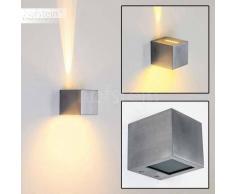 Berwyn Aplique Aluminio, 1 luz - 370 Lumen - Moderno/Diseño - Zona interior - 2800 Kelvin - 2 - 4 días laborables .