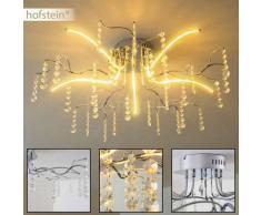Pickering Lámpara de techo LED Cromo, 5 luces - 240 Lumen - Diseño - Zona interior - 3000 Kelvin - 2 - 4 días laborables .