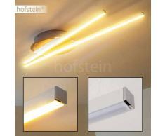 Emo Lámpara de techo LED Acero bruñido, 2 luces - 1370 Lumen - Diseño - Zona interior - 3000 Kelvin - 2 - 4 días laborables .