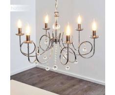 Elva Lámpara de araña Cromo, 6 luces - - Clásico - Zona interior - - 2 - 4 días laborables .