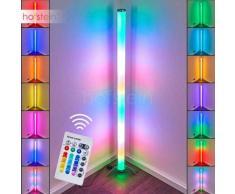 Globo ROCKY Lámpara de pie LED Plata, 1 luz - - Multicolor/vivienda Juvenil - Zona interior - RGB Kelvin - 3 o 6 días laborables .