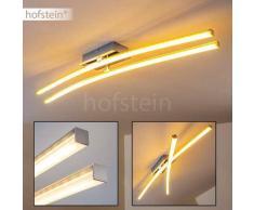 Georgina Lámpara de techo LED Cromo, 2 luces - 1600 Lumen - Diseño - Zona interior - 3000 Kelvin - 2 - 4 días laborables .