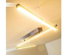 Seguin Lámpara de techo LED Acero bruñido, 3 luces - 1050 Lumen - Diseño - Zona interior - 3000 Kelvin - 4 - 8 días laborables .