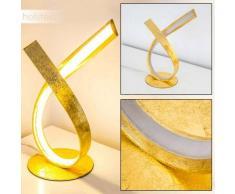Lámpara de Mesa Medle LED dorado, 1 luz - 910 Lumen - Diseño - Zona interior - 3000 Kelvin - 2 - 4 días laborables .