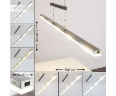 Lámpara Colgante Bredbyn LED Níquel-mate, 5 luces - 2000 Lumen - Moderno - Zona interior - 2700-4000 Kelvin - 2 - 4 días laborables .