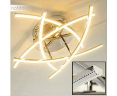 Cormack Lámpara de techo LED Cromo, 5 luces - 2950 Lumen - Moderno - Zona interior - 3000 Kelvin - 2 - 3 semanas .