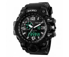 SKMEI 1155 50M reloj multifuncion deportivo impermeable - negro