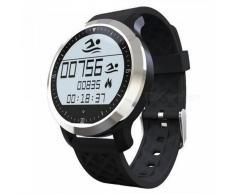 F69 reloj Bluetooth IP68 impermeable reloj deportivo inteligente - negro