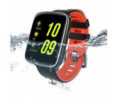 JSBP GV68 IP68 impermeable BT4.0 reloj inteligente w / ritmo cardiaco - rojo