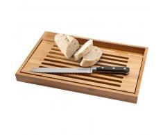 Tabla para cortar con cuchillo de pan madera 29 31
