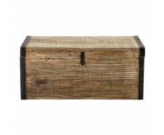Maisons du monde Baúl de madera An. 80 cm KAELIG
