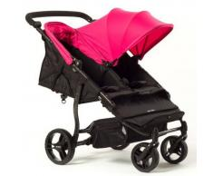 Baby Monsters Silla De Paseo Gemelar Easy Twin Rosa Baby Monsters 0m+