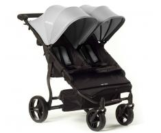 Baby Monsters Silla De Paseo Gemelar Easy Twin Silver Baby Monsters 0m+