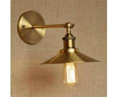 Aplique de pared dorado vintage - Scopa
