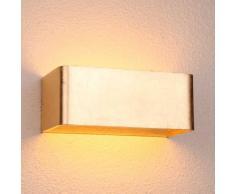 Aplique de LED pan de Oro - Quadra 20 cm