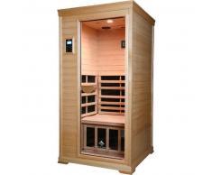 HealthYUKANE Sauna Infrarrojos LOW EMF 1 Persona Hemlock Hipoalergénico