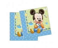 Disney Set servilletas Mickey Baby
