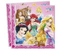 Disney Set de servilletas Princess Animals