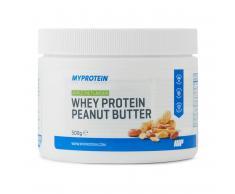 Myprotein Mantequilla de Cacahuete con Proteína Aislada - 500g - Tarro - Apple Pie