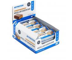 Myprotein Barrita de Caseína Micelar - 12 x 70g - Caja - Chocolate y Mantequilla de Cacahuete