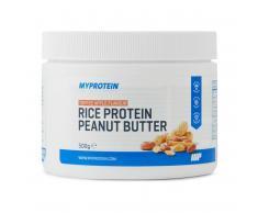 Myprotein Mantequilla de Cacahuete con Proteína de Arroz - 500g - Tarro - Toffee Apple