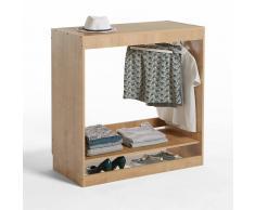 LES PETITS PRIX Módulo armario colgador 1 estante Build beige