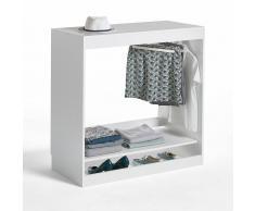 LES PETITS PRIX Módulo armario colgador 1 estante Build blanco