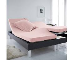 SCENARIO Sábana bajera de punto para somieres articulados rosa
