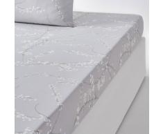 La Redoute Interieurs Sábana bajera de satén de algodón Natsumi gris
