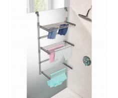 La Redoute Interieurs Tendedero de ducha para ganar espacio modulable, Aréglo gris