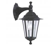 EGLO Lámpara de pared exterior Laterna 4 hasta 60 W negra 22467