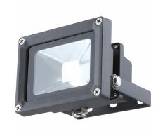 GLOBO Lámpara de pared LED exterior PROJECTEUR aluminio gris 34114