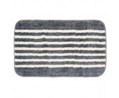 Sealskin Alfombra de baño gris con rayas 50 x 80 cm, 294385414