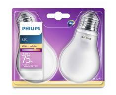 Philips Bombillas LED 2 unidades Classic 8,5 W 1055 lm 929001286371