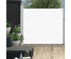 vidaXL Toldo lateral retráctil de jardín color crema 100x300 cm