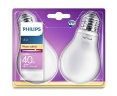 Philips Bombillas LED 2 unidades Classic 4,5 W 470 lm 929001242901
