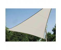 Perel Toldo de vela triangular 3,6 m crema GSS3360
